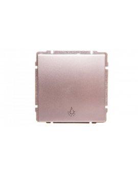KOS66 Przycisk /światło/ aluminium 664013