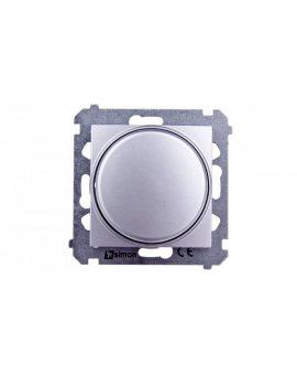 Simon 54 Regulator 1–10V załączania i regulacji źródeł światła srebrny mat DS9V.01/43
