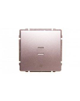 KOS66 Łącznik krzyżowy podświetlany aluminium 624017