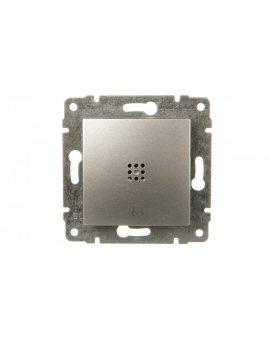 VENA Przycisk /dzwonek/ z podświetleniem aluminium 524014