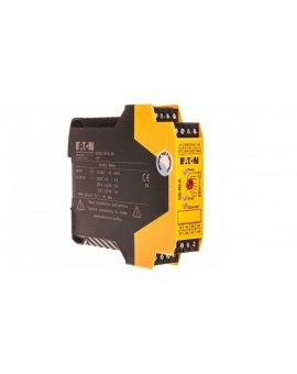 Przekaźnik bezpieczeństwa do przycisków bezpieczeństwa, drzwi ochronnych i barier optycznych 3Z 24V DC ESR5-NV3-30 118705