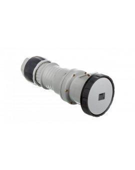 Gniazdo przenośne 4P 125A 500V czarne IP67 7H GW62062H