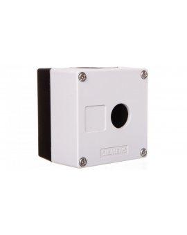 Obudowa kasety 1-otworowa 22mm czarno-szara M20 IP69k Sirius ACT 3SU1801-0AA00-0AB1