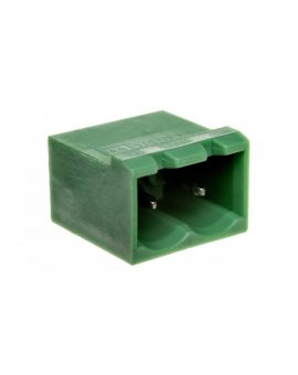 Gniazdo pinowe 2P 320V 12A zielone MSTBVA 2, 5/ 2-G 1755516