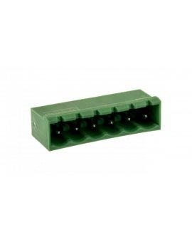 Gniazdo pinowe 6P 320V 12A zielone MSTBVA 2, 5/ 6-G 1755558 /100szt./