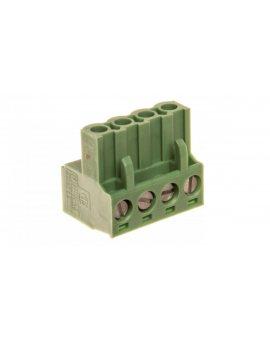 Wtyk śrubowy do płytek drukowanych 4P zielony MSTBT 2, 5 HC/ 4-ST 1926251 /50szt./
