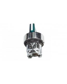 Napęd przełącznika 3 położeniowy zielony z podświetleniem bez samopowrotu ZB4BK1333