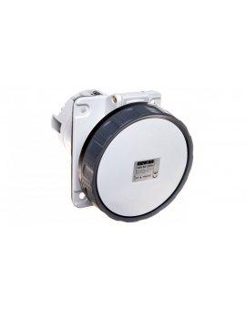 Gniazdo tablicowe 4P 63A 500V czarne 110x100mm IP67 GW63255H