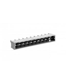 Wtyk MCS-MIDI Classic 10-biegunowy szary raster 5mm 231-140/001-000 /100szt./