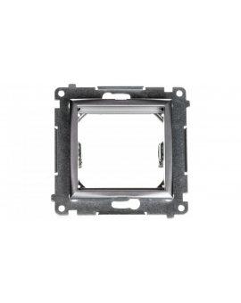 Simon 54 Adapter (przejściówka) na osprzęt standardu 45 × 45 mm srebrny (met.) DA45.01/43