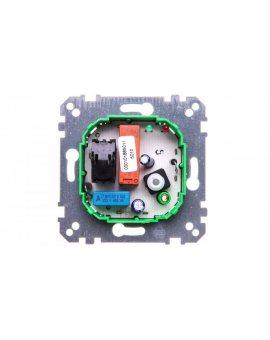 Merten Regulator temperatury ogrzewania podłogowego złącznikiem 230V 10A 10-50st.C IP20 MTN537100