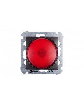 Simon 54 Sygnalizator świetlny LED czerwone światło antracyt DSS2.01/48
