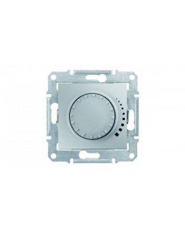 Sedna Ściemniacz obrotowo-przyciskowy 60-500VA aluminiowy SDN2200560