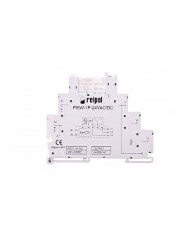 Przekaźnik interfejsowy 1P 6A 24V 24V AC/DC AgSnO2 PIR6W-1P-24VAC/DC 858606