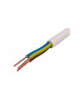 Przewód YDY 3x2, 5 żo biały 450/750V /100m/