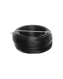 Przewód instalacyjny H05V-K (LgY) 1 czarny /100m/