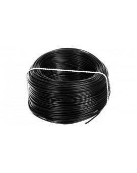 Przewód instalacyjny H05V-K (LgY) 0, 75 czarny /100m/