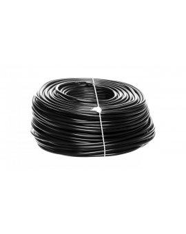 Przewód mieszkaniowy H03VV-F (OMY) 3x0, 75 żo czarny /100m/