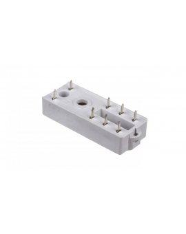 Gniazdo przekaźnika RM84, RM85, RM87L, RM87P do obwodu drukowanego PW80 592066