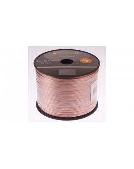 Przewód głośnikowy CCA 2x1, 5 ECa LB0008 LIBOX /100m/