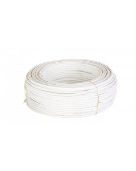 Przewód koncentryczny YWDXpek 75-1, 05/4, 8 Al biały /100m/
