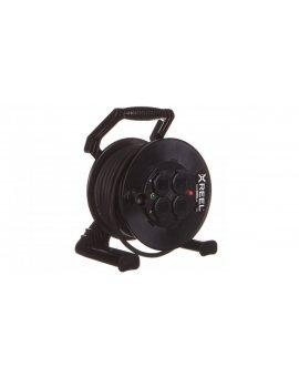 Przedłużacz bębnowy XREEL 30mb H05RR-F 3x2, 5 IP44 4xGS 230V 92501H48263
