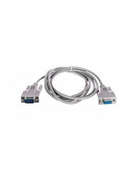 Kabel przedłużający RS232 1:1 Typ DSUB9/DSUB9, M/Ż beżowy 2m AK-610203-020-E