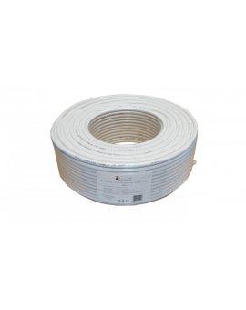 Przewód koncentryczny RG6U 0, 8/4, 8 CCS100 LIBOX /100m/