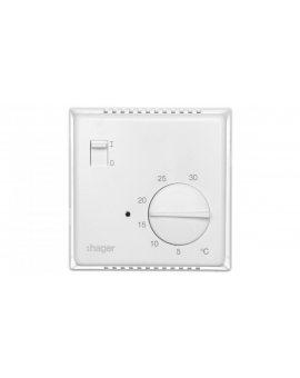 Termostat 230V 10A 5-30°C IP30 biały EK051