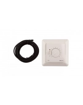 Termostat DEVIreg 530 230V 15A -10-50°C IP31 biały 140F1030