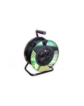 Przedłużacz bębnowy 4-gniazda z/u 50m H05RR-F 3G1, 5 IP44 P084501