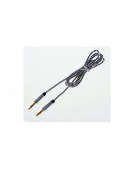 Przewód Jack 3, 5mm /3-pin stereo/ 1m LIBOX LB0094