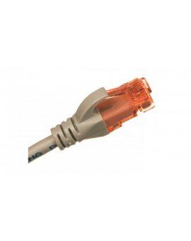 Kabel krosowy (Patch Cord) U/UTP kat.6 szary 0, 5m DK-1612-005