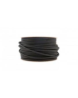Kabel PREMIUM 2 żyłowy czarny 2x0, 75mm2 1m LUX05710