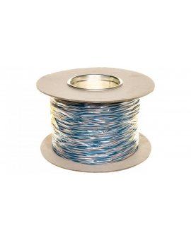Przewód montażowy TDY 2x0, 5 biało-niebieski /500m/