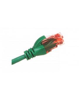 Kabel krosowy (Patch Cord) U/UTP kat.6 zielony 0, 5m DK-1612-005/G