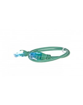 Kabel krosowy (Patch Cord) U/UTP kat.5e zielony 0, 5m DK-1512-005/G