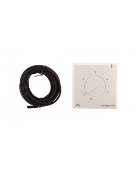 Termostat DEVIreg 130 230V 16A 5-45°C IP30 biały 140F1010