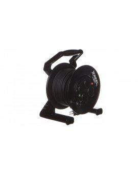 Przedłużacz bębnowy XREEL 30mb H05RR-F 3x1, 5 IP54 4xGS 230V 92501H48163
