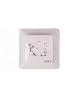 Termostat DEVIreg 531 230V 16A -5-35°C IP31 biały 140F1034