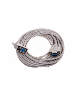 Kabel przedłużający RS232 1:1 Typ DSUB9/DSUB9, M/Ż beżowy 10m AK-610203-100-E