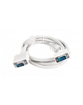 Kabel połączeniowy beżowy SVGA Typ DSUB15/DSUB15, M/M 1, 8m AK-310103-018-E