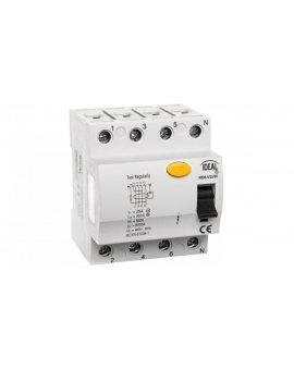 Wyłącznik różnicowoprądowy 4P 25A 0, 03A typ AC KRD6-4/25/30 23183
