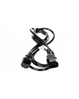Kabel przedłużający IEC C14 - IEC C13 2m 50081