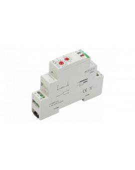 Przekaźnik czasowy 1P 10A 0, 1sek-576h 230V AC opóźnione załączenie PCR-513