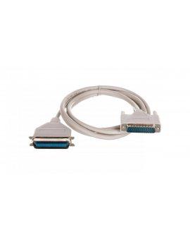 Kabel połączeniowy Centronics DSUB25/DSUB36, M/M beżowy 1, 8m AK-580100-018-E
