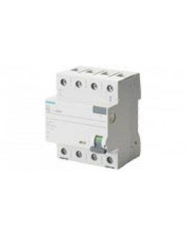 Wyłącznik różnicowoprądowy 4P 25A 0, 1A typ A 5SV3442-6