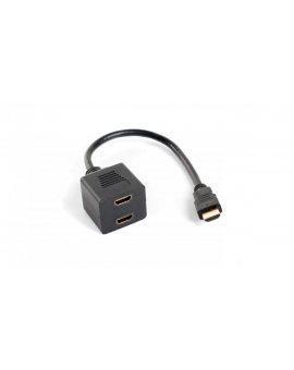 Rozdzielacz/Splitter HDMI 1/2-portowy AD-0019-BK