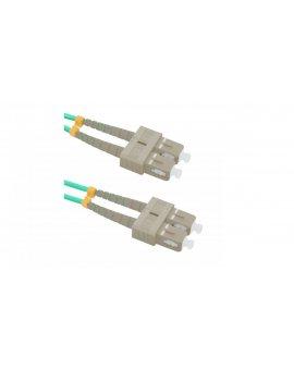 Patchcord światłowodowySC/UPC-SC/UPC MM 50/125 OM4 10m/54356