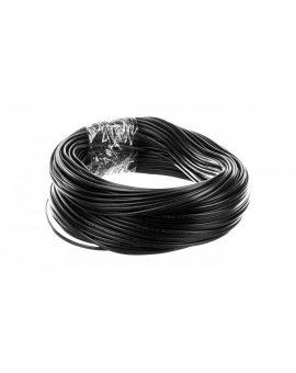 Przewód płaski H03VVH2-F (OMYp) 2x0, 5 czarny /100m/